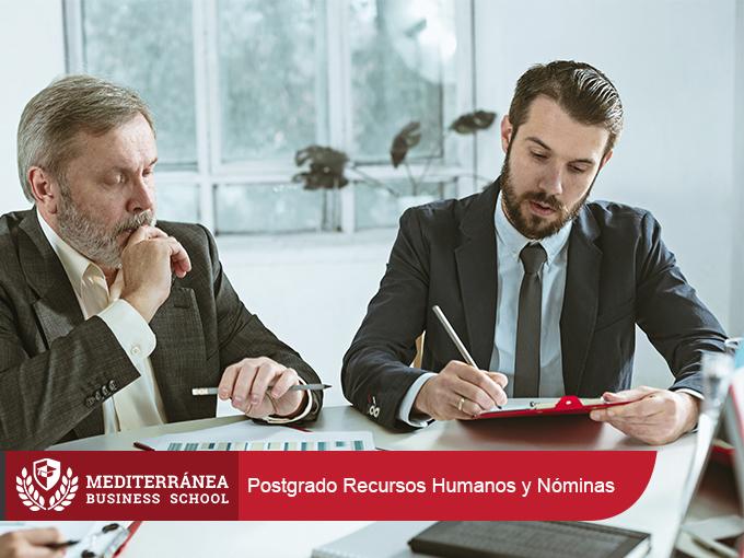 postgrado recursos humanos y nominas de mediterranea business school