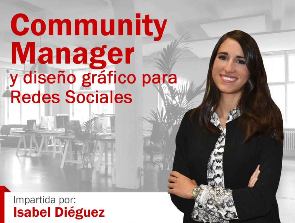masterclass community manager y diseño gráfico para redes sociales