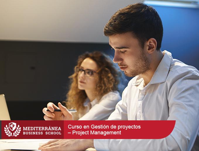 Curso en Gestión de proyectos – Project Management